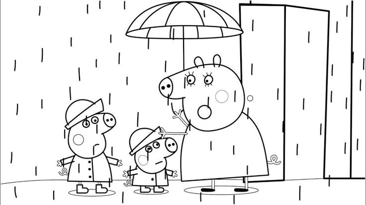 for boys Rain Coloring Pages - Best Coloring Pages For Kids online