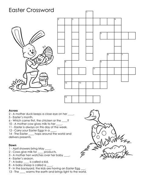 for sunday school Easter Puzzles - Best Coloring Pages For Kids to print out
