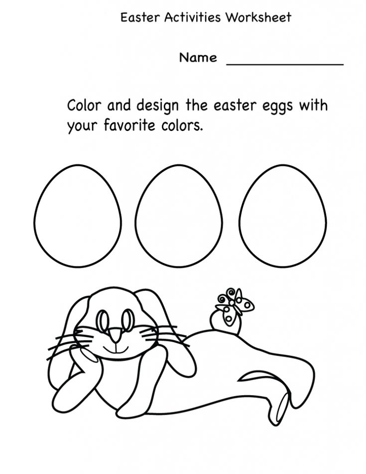free Printable Easter Activities - Best Coloring Pages For Kids printable