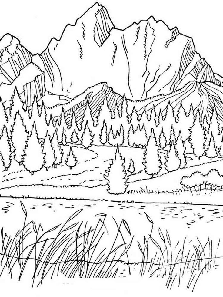 for adults Scenery Coloring Pages for Adults - Best Coloring Pages For ... for sunday school