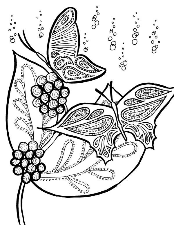 online Butterfly Coloring Pages for Adults - Best Coloring Pages Fo... for adults