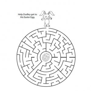 for teens Easter Mazes - Best Coloring Pages For Kids printable