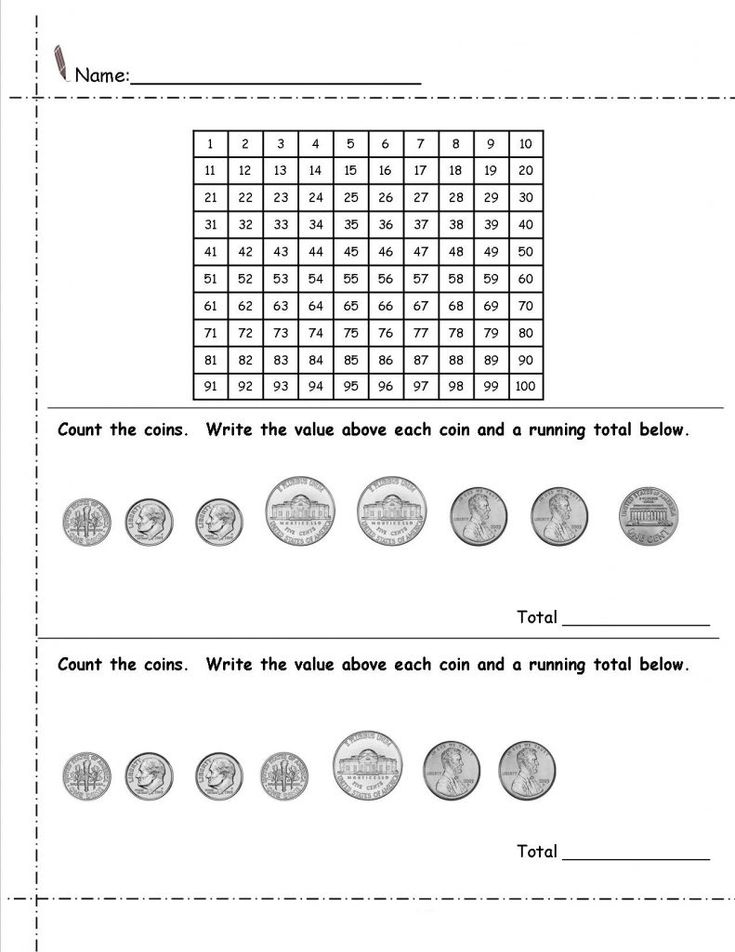 simple 2nd Grade Money Worksheets - Best Coloring Pages For Kids for adults