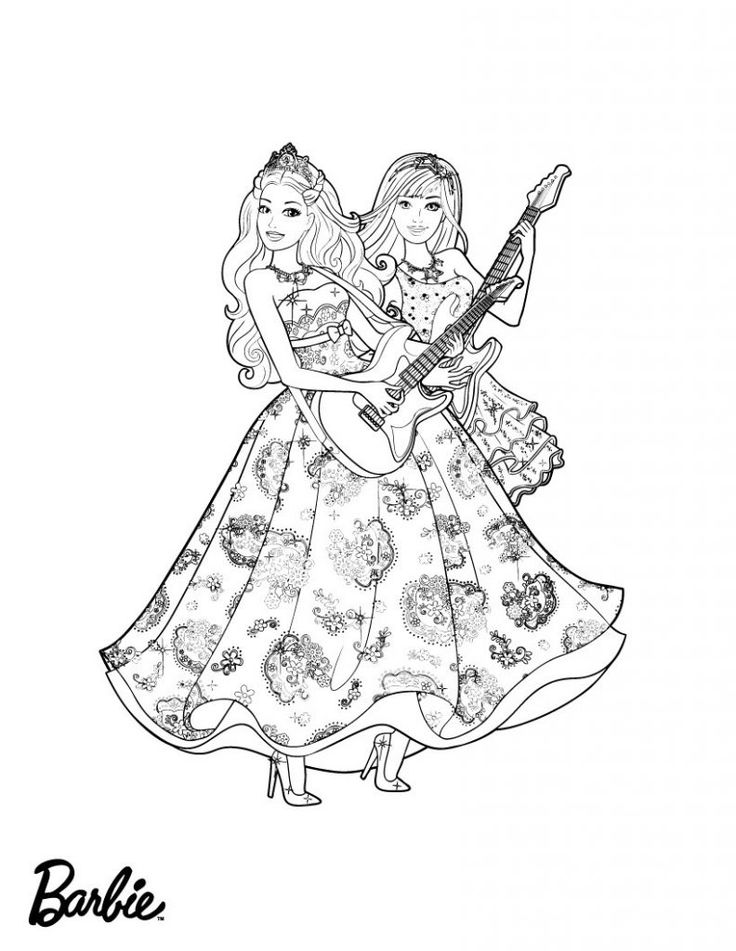 for sunday school Barbie Princess Coloring Pages - Best Coloring Pages For Kid... pdf