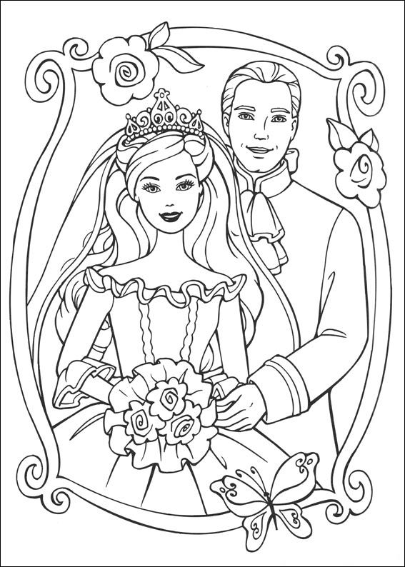 preschool Barbie Princess Coloring Pages - Best Coloring Pages For Kid... toddler