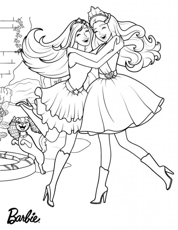 online Barbie Princess Coloring Pages - Best Coloring Pages For Kid... easy