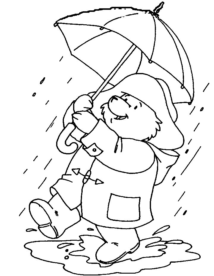 for boys Rain Coloring Pages - Best Coloring Pages For Kids for teens
