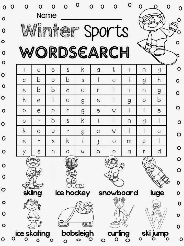 toddler 1st Grade Word Search - Best Coloring Pages For Kids simple