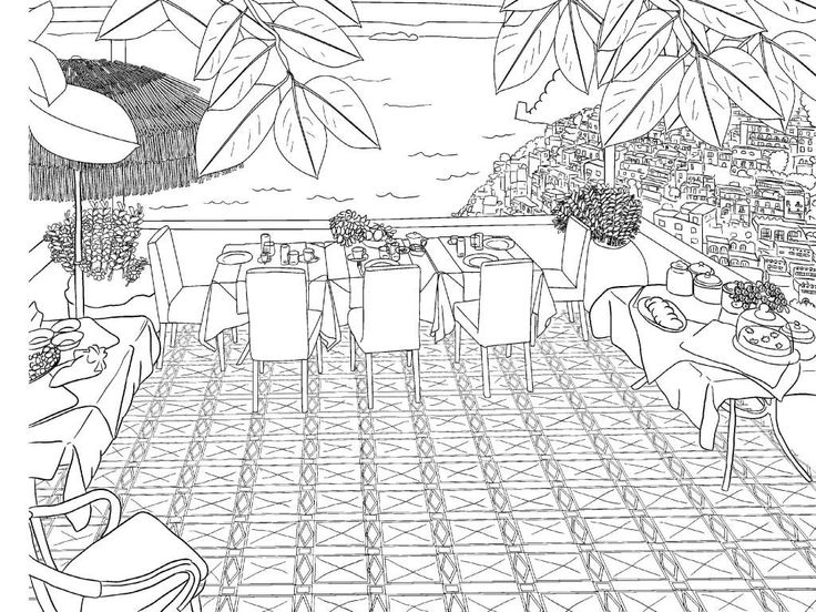 for boys Scenery Coloring Pages for Adults - Best Coloring Pages For ... for teens