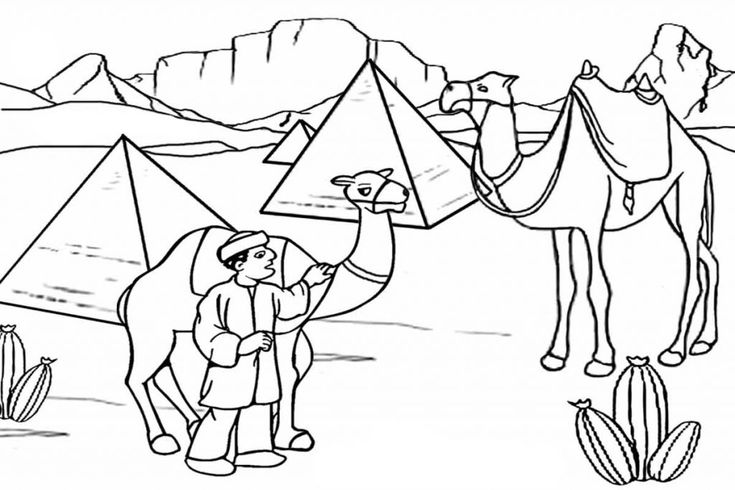 to print out Desert Coloring Pages - Best Coloring Pages For Kids free