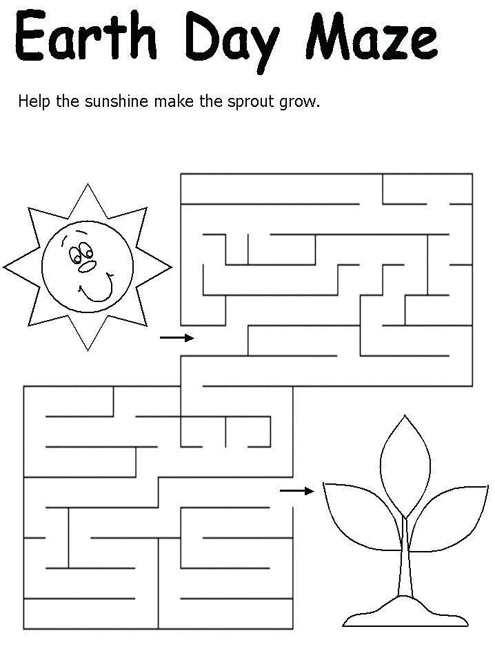 toddler Earth Day Worksheets - Best Coloring Pages For Kids online