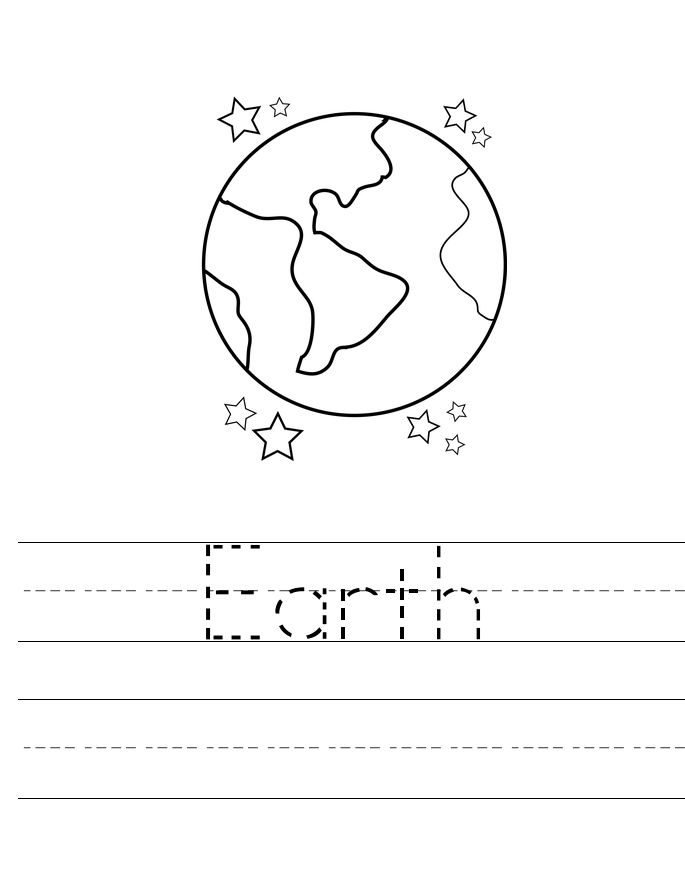online Earth Day Worksheets - Best Coloring Pages For Kids printable