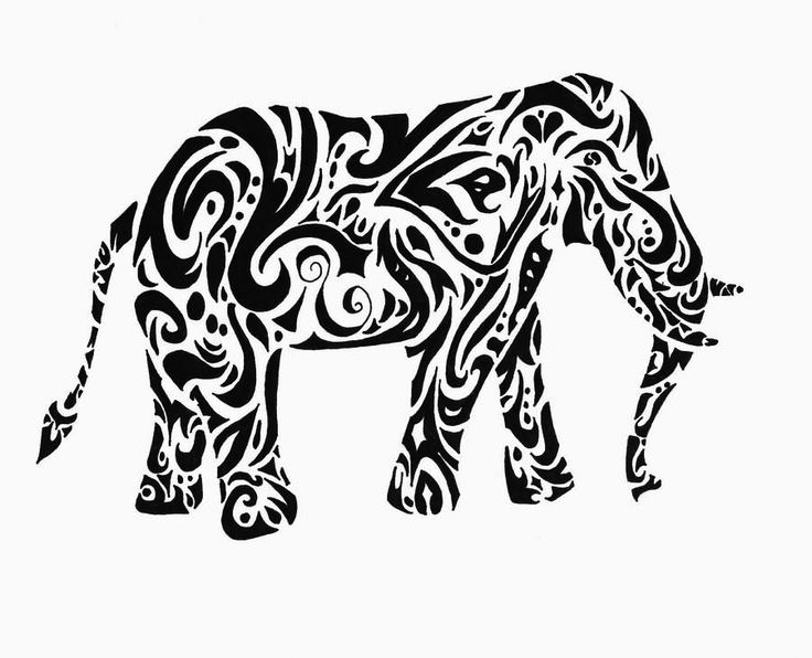 for toddlers Elephant Coloring Pages for Adults - Best Coloring Pages For... simple