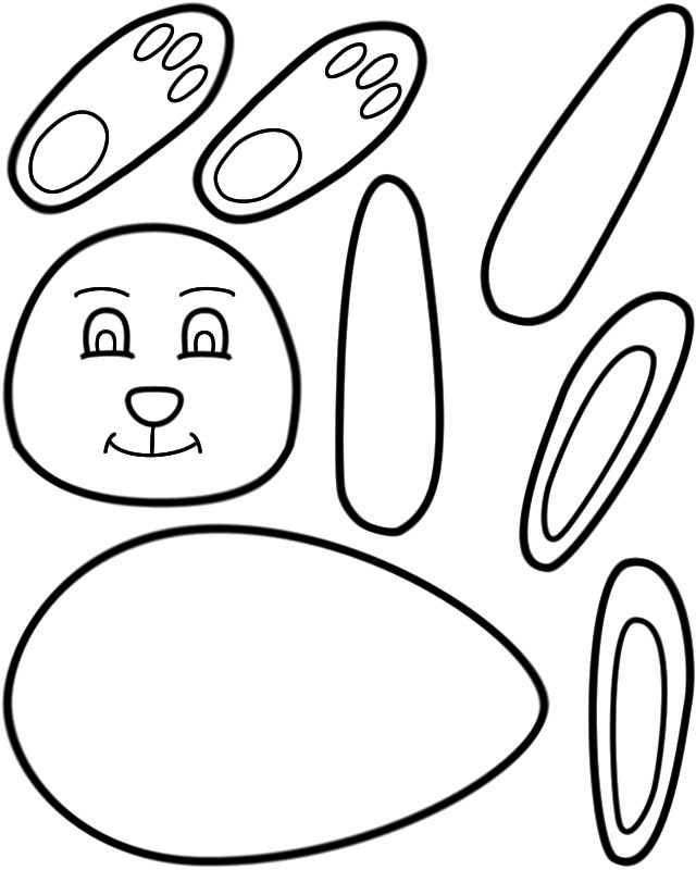 for kids Printable Easter Activities - Best Coloring Pages For Kids easy