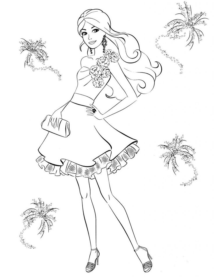 for sunday school Barbie Princess Coloring Pages - Best Coloring Pages For Kid... for girls