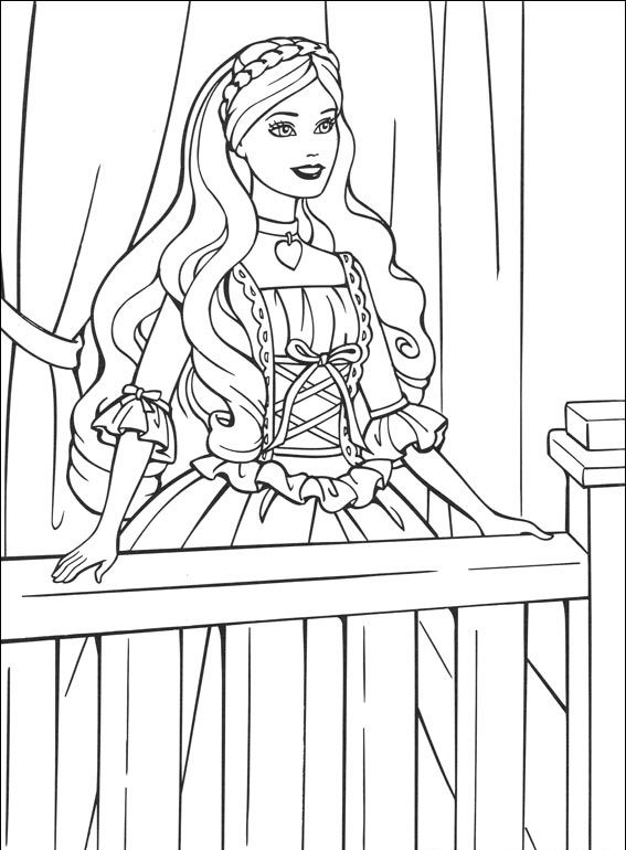 toddler Barbie Princess Coloring Pages - Best Coloring Pages For Kid... preschool