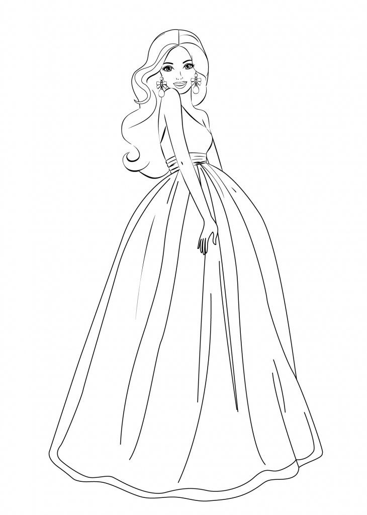 for adults Barbie Princess Coloring Pages - Best Coloring Pages For Kid... free printable