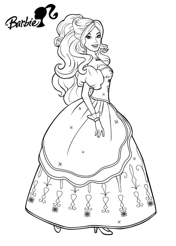 for sunday school Barbie Princess Coloring Pages - Best Coloring Pages For Kid... preschool