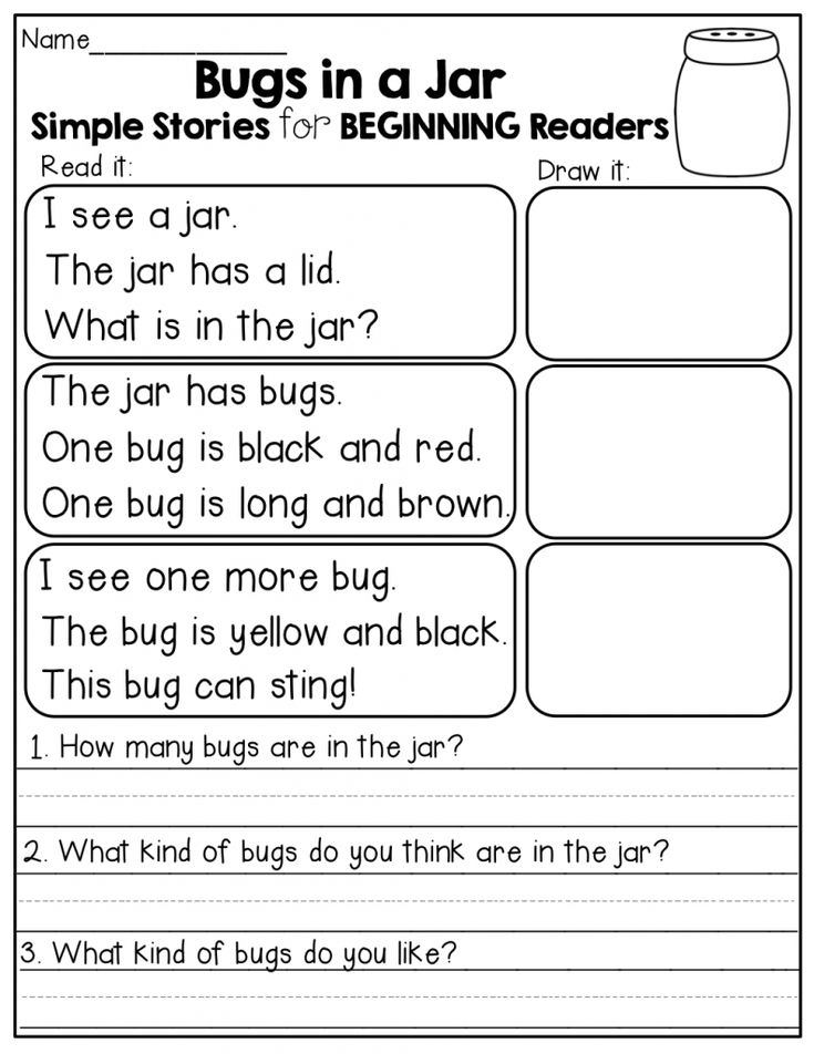 printable 2nd Grade Reading Worksheets - Best Coloring Pages For Kids already colored