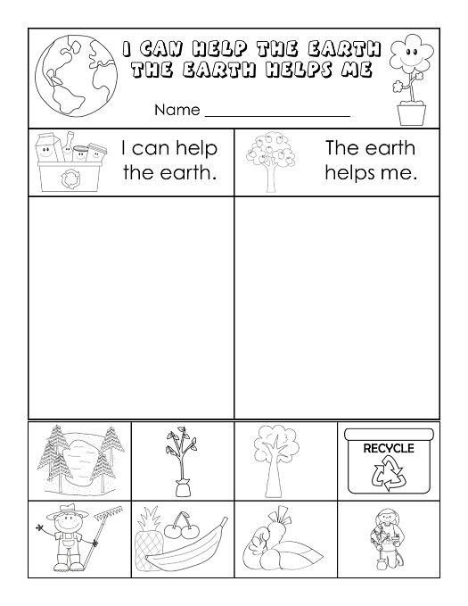 free Earth Day Worksheets - Best Coloring Pages For Kids to print out