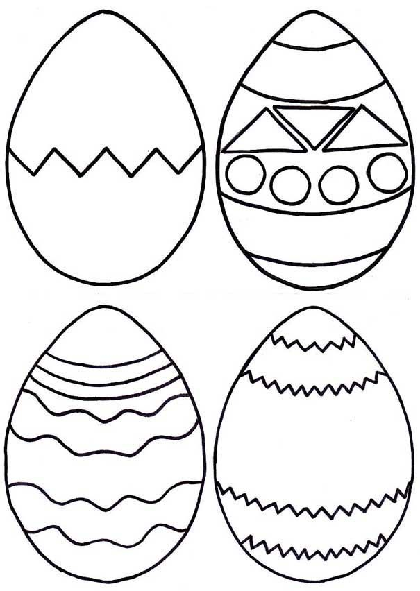 for teens Easter Preschool Worksheets - Best Coloring Pages For Kids already colored