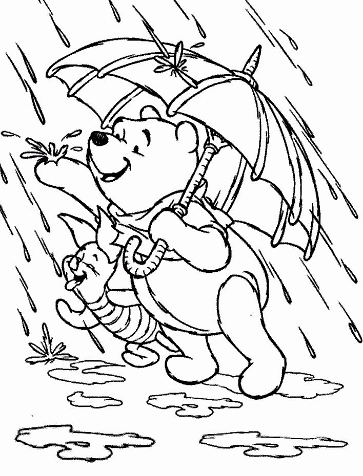 for boys Rain Coloring Pages - Best Coloring Pages For Kids toddler