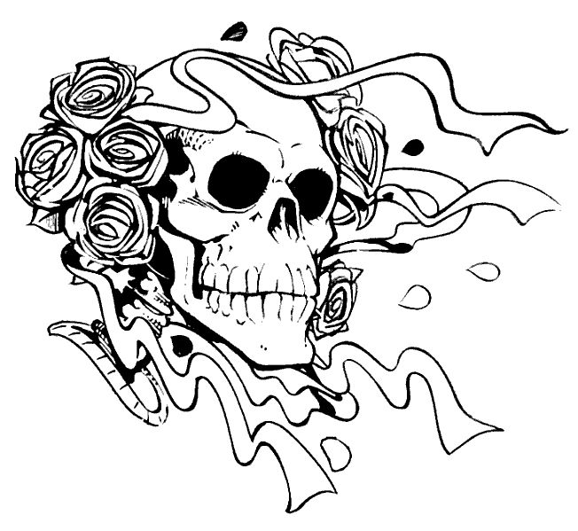 for adults Skull Coloring Pages for Adults - Best Coloring Pages For Ki... free printable