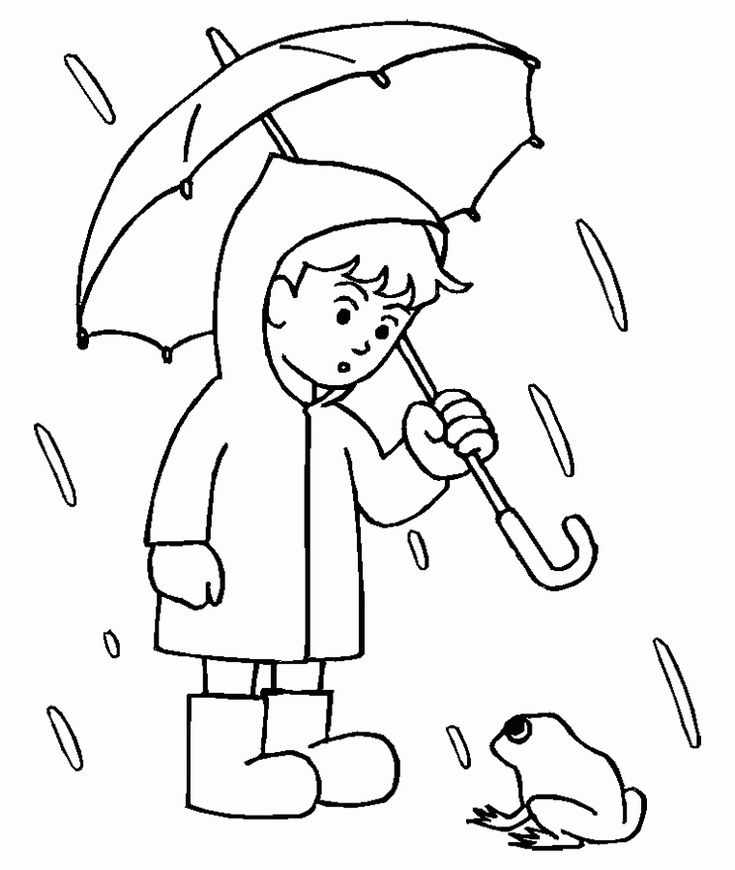 printable Rain Coloring Pages - Best Coloring Pages For Kids for boys