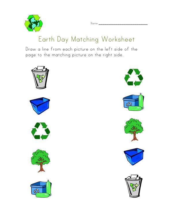 preschool Earth Day Worksheets - Best Coloring Pages For Kids online