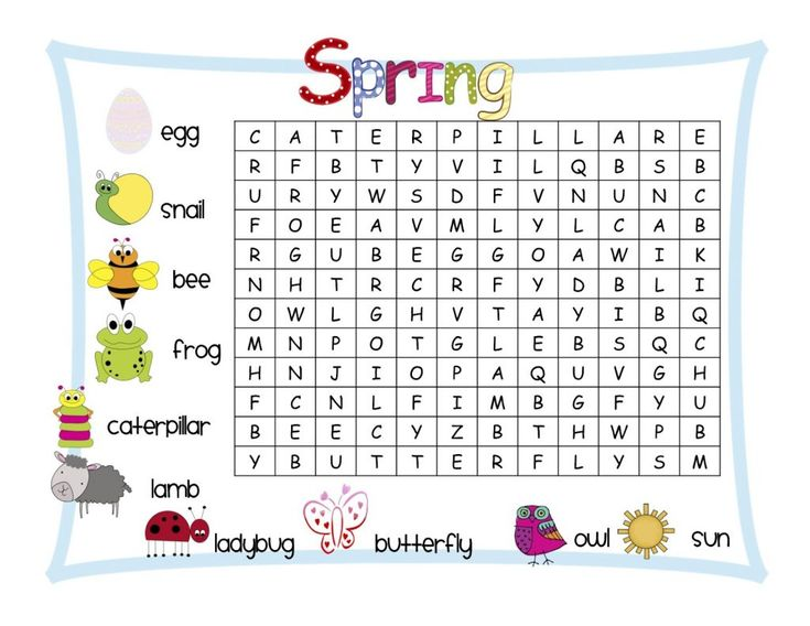 already colored 1st Grade Word Search - Best Coloring Pages For Kids toddler