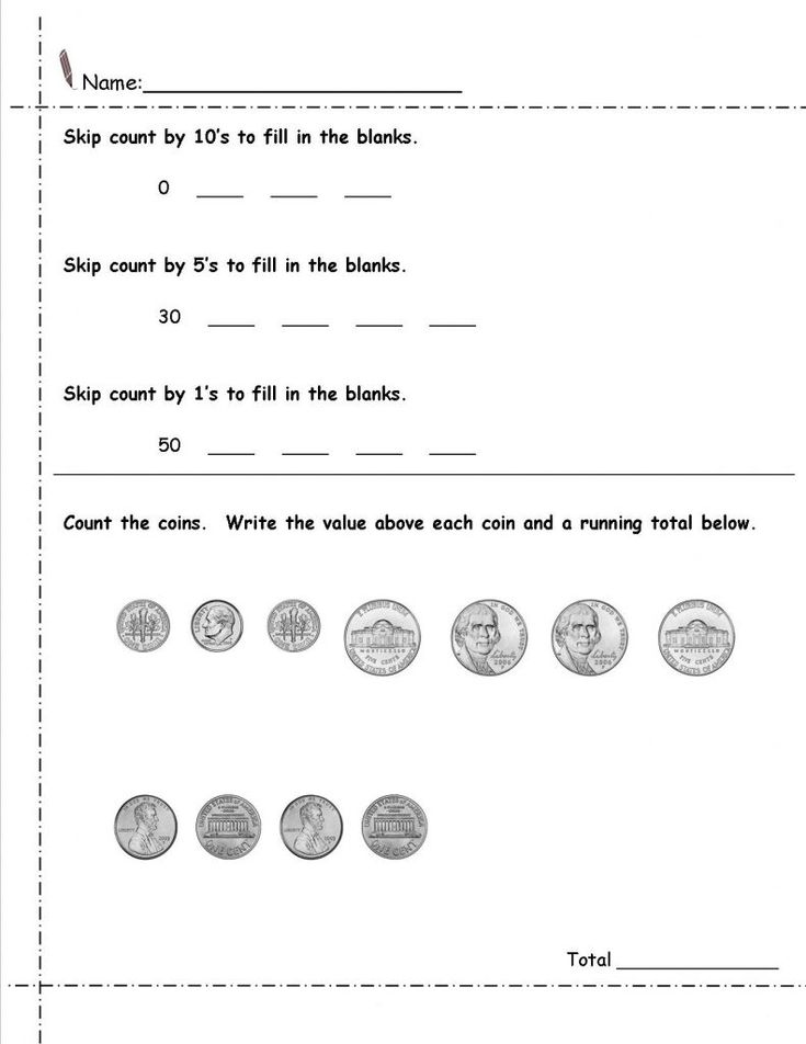 toddler 2nd Grade Money Worksheets - Best Coloring Pages For Kids free printable