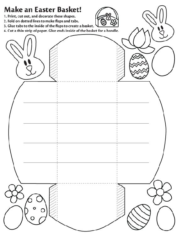 for kindergarten Printable Easter Activities - Best Coloring Pages For Kids for girls