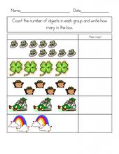 simple St Patricks Day Worksheets - Best Coloring Pages For Kids for toddlers