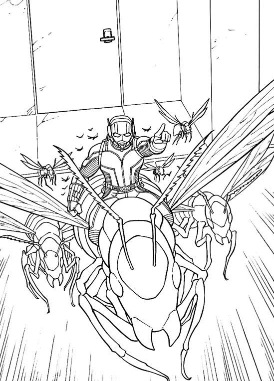 for boys Ant Man Coloring Pages - Best Coloring Pages For Kids for boys