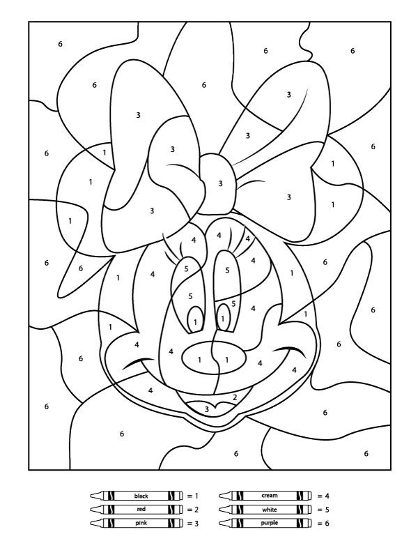 for boys Free Printable Color by Number Coloring Pages - Best Colorin... free