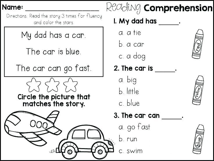to print out 1st Grade Reading Worksheets - Best Coloring Pages For Kids already colored