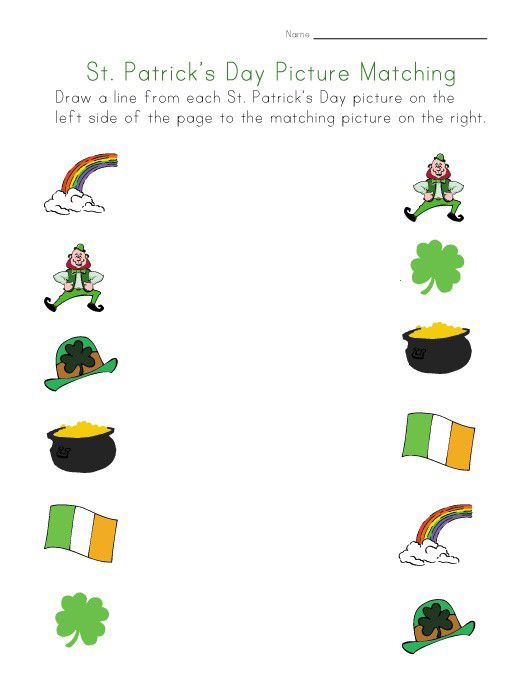 online St Patricks Day Puzzles - Best Coloring Pages For Kids for kids