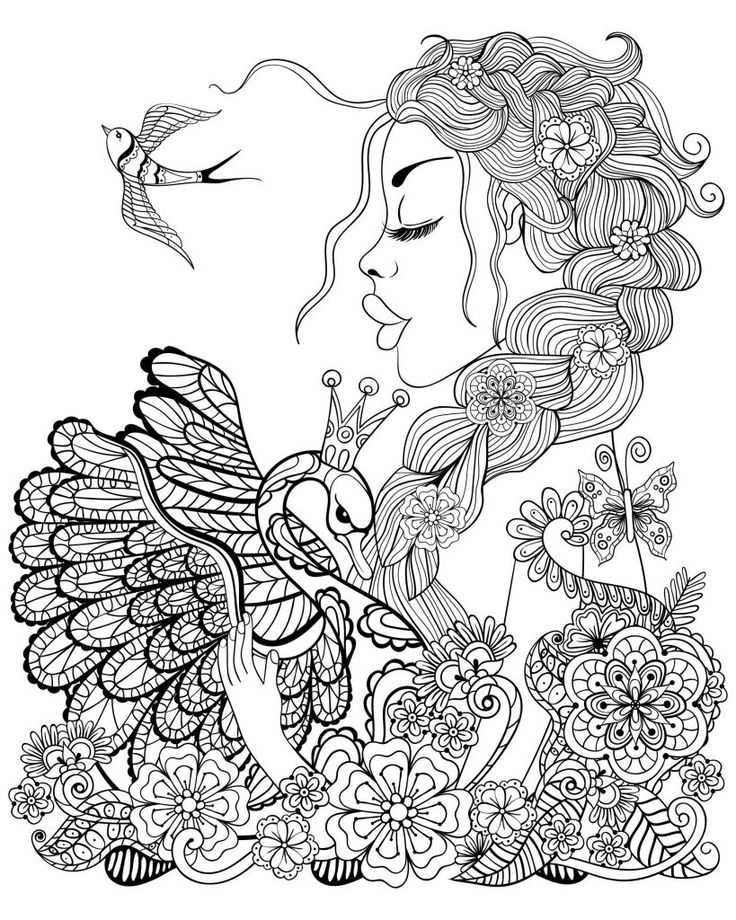 printable Fairy Coloring Pages for Adults - Best Coloring Pages For Ki... for toddlers