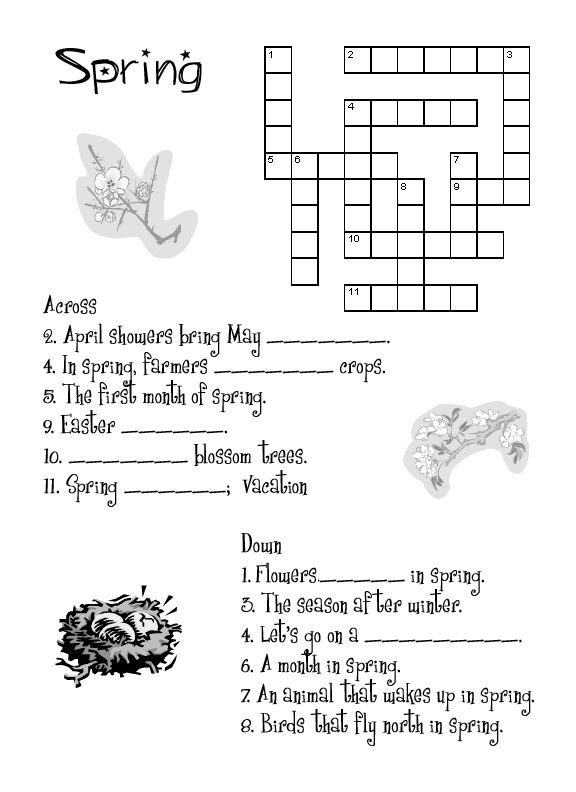 for teens Spring Worksheets - Best Coloring Pages For Kids free