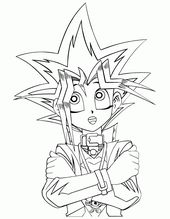 For Boys Print Yugioh Coloring Pages To Print Out