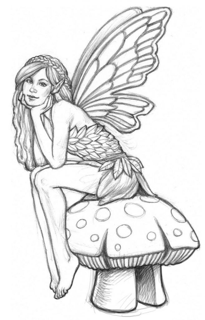 toddler Fairy Coloring Pages for Adults - Best Coloring Pages For Ki... for boys