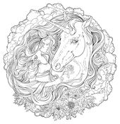 for sunday school Unicorn Coloring Pages for Adults - Best Coloring Pages For ... for adults