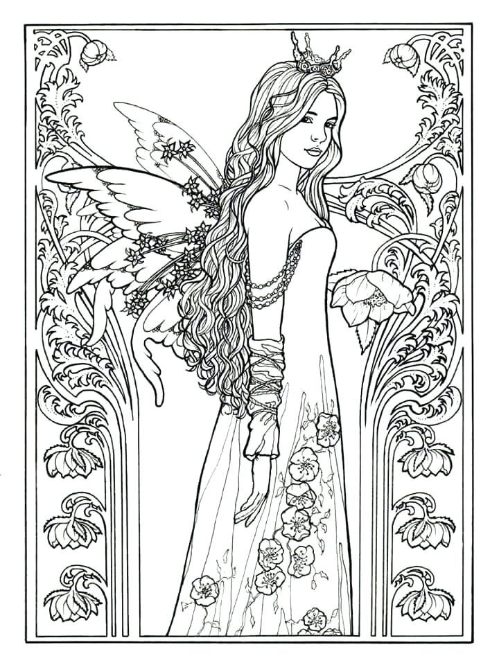 for toddlers Fairy Coloring Pages for Adults - Best Coloring Pages For Ki... online