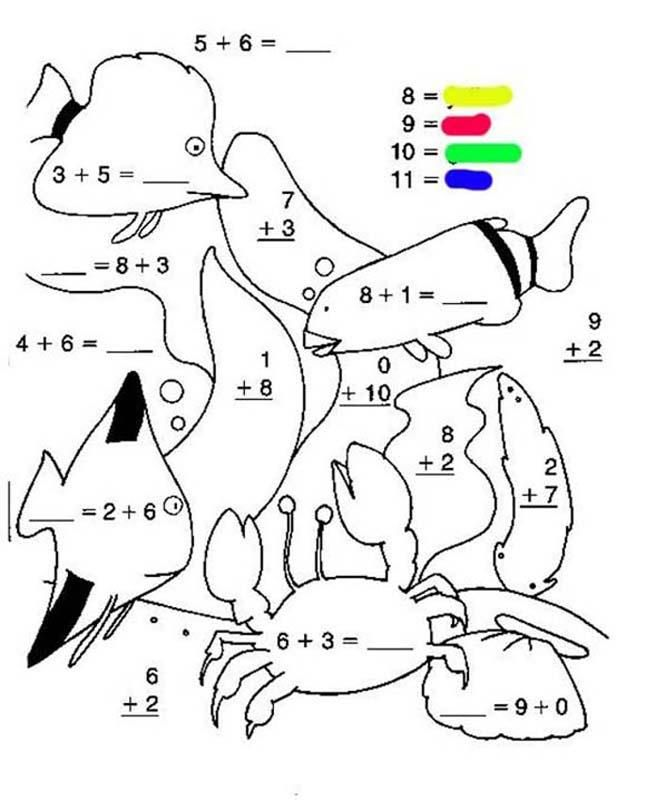 for sunday school Free Printable Color by Number Coloring Pages - Best Colorin... for toddlers