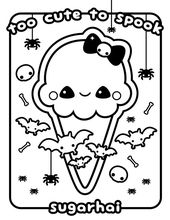 Cute Ice Cream Coloring Pages