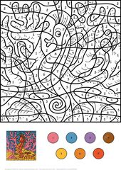 Color by Numbers for All Ages