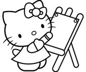 Online Coloring Book Pages for Kids   Learning Printable