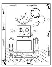 Printable Robot Coloring Pages for Boys | Learning Printable