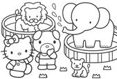 Free Animals Coloring Pages Online for Kindergarten | Learning Printable