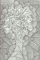 Free Adults Coloring Pages Online | Learning Printable
